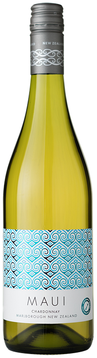 maui wine bottle chardonnay